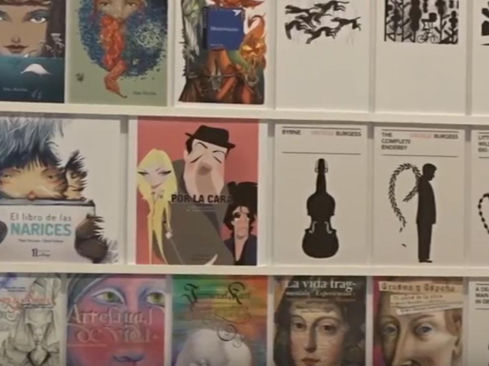 Exposición 'Paseando la mirada. Historias ilustradas desde Zaragoza' en La Lonja