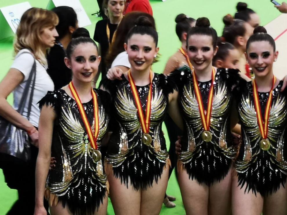 El equipo de Primera Categoría del CEGRZ 97, oro en la Copa de España