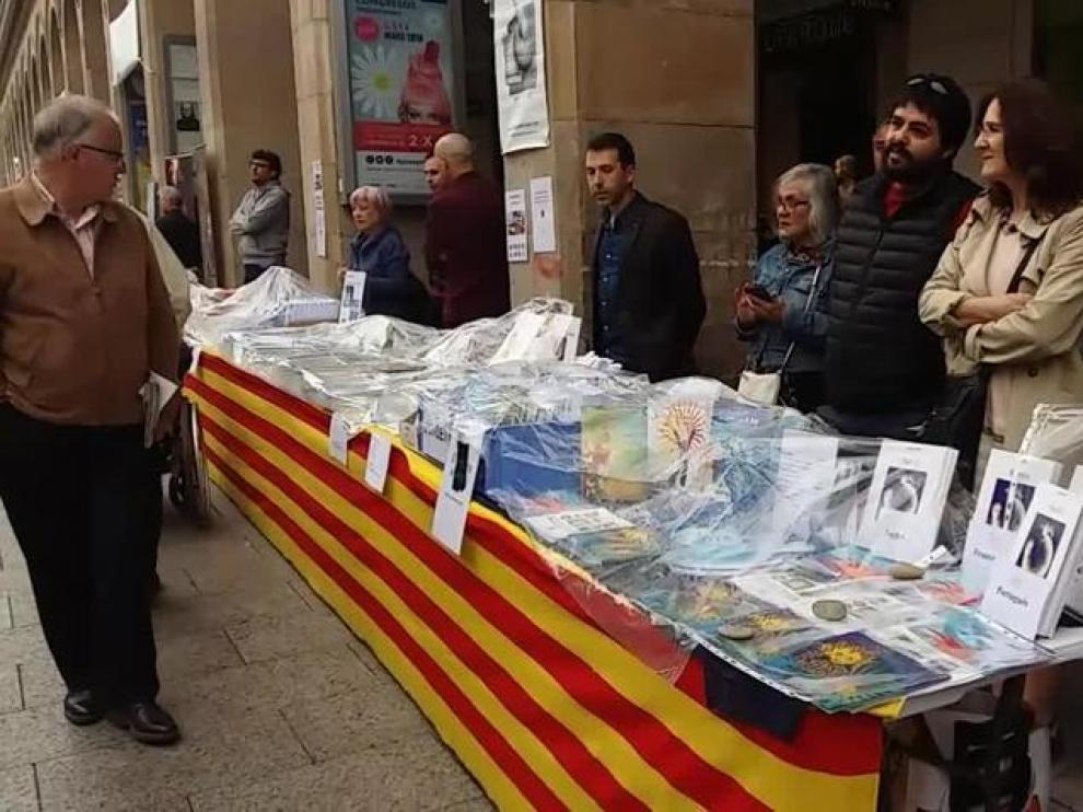 El Día del Libro este lunes en Zaragoza