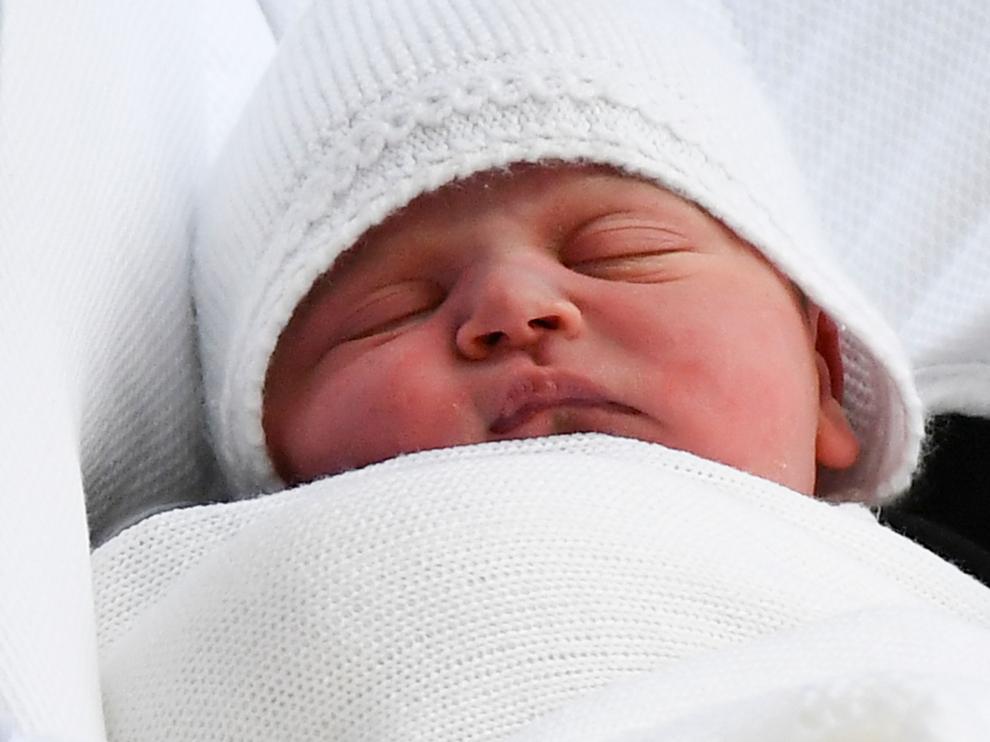 Los Duques de Cambridge presentaron a su tercer hijo.