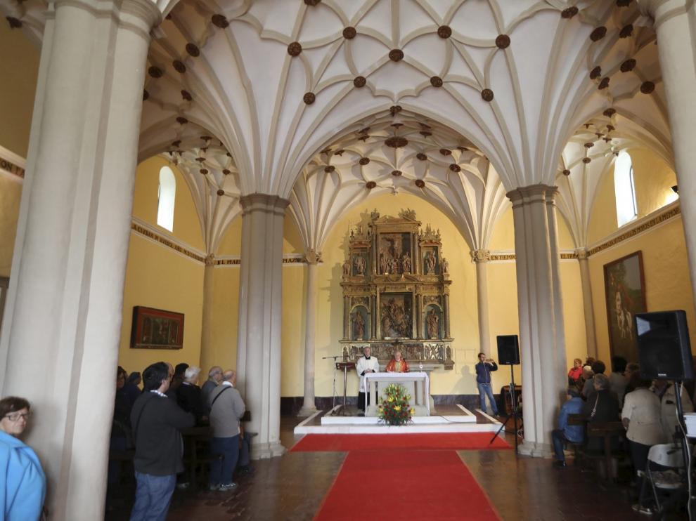 Celebración del día de San Jorge en Huesca