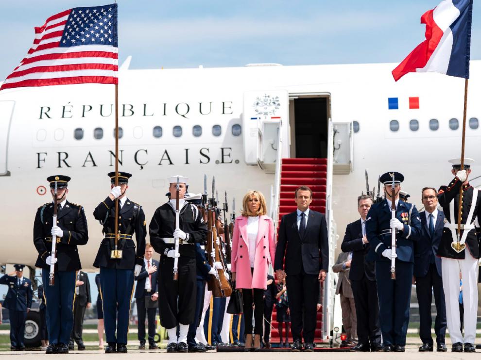 Jambalaya, cordero y ópera, el festín de los Trump para agasajar a los Macron