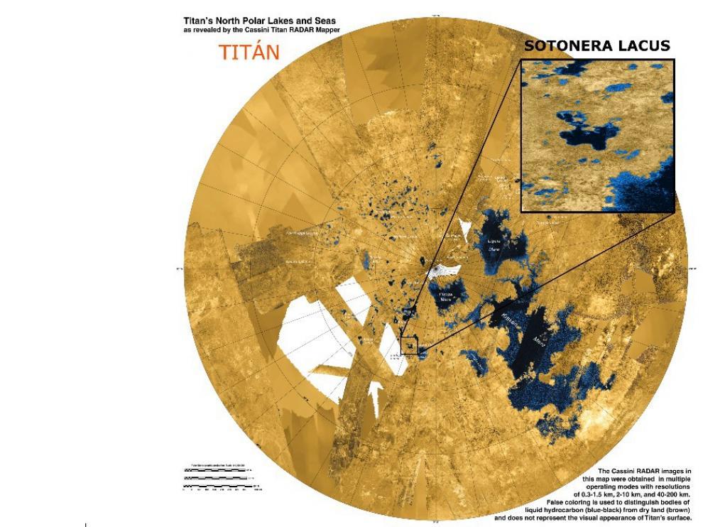 Sotonera Lacus es un lago de metano líquido ubicado en Titán