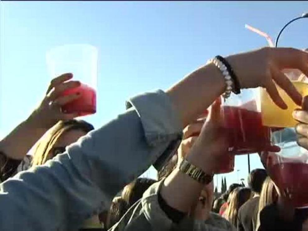 El alcohol, junto al tabaco, son las sustancias adictivas más consumidas de Aragón tanto en jóvenes como adultos.
