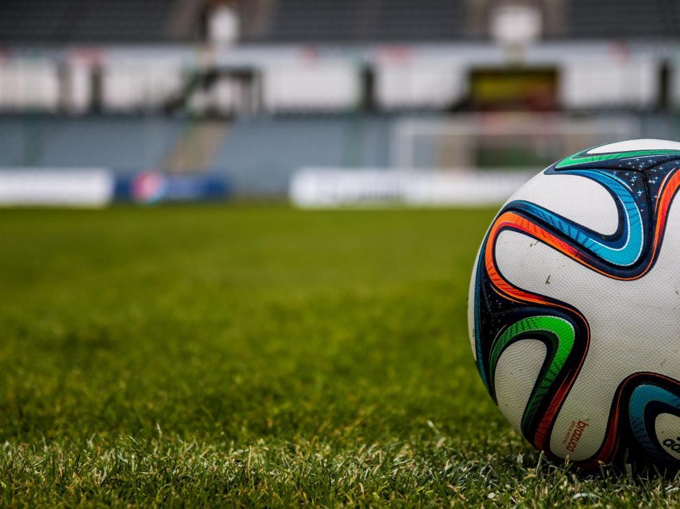 Imagen de archivo de un campo de fútbol