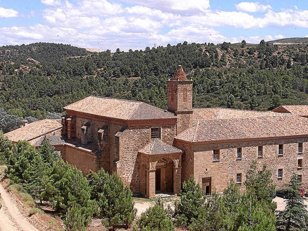 El Monasterio de Santa María del Olivar, en Estercuel, será sede del cierre del ciclo.