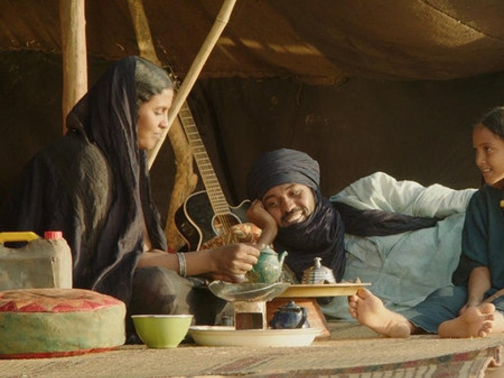 Fotograma de 'Timbuktu', que se proyectará el 25 de abril a las 18:30 en la biblioteca María Moliner.