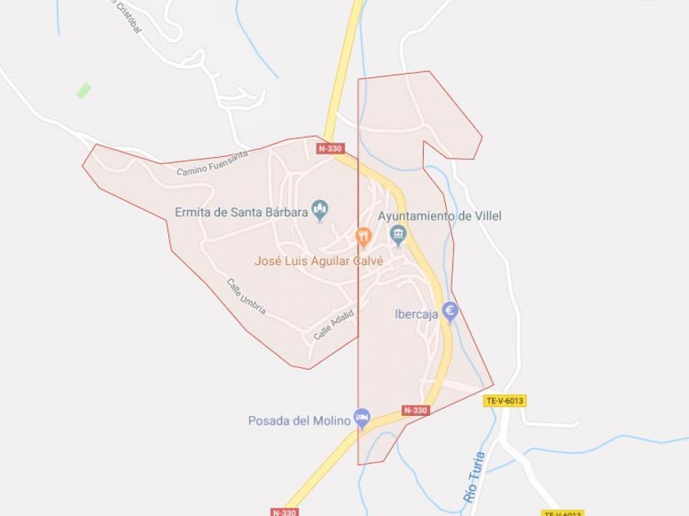 Los hechos tuvieron lugar en la localidad turolense de Villel.