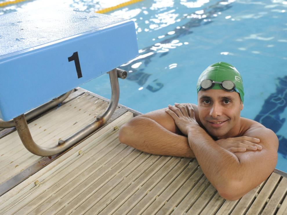 El nadador José Juan Aranda.