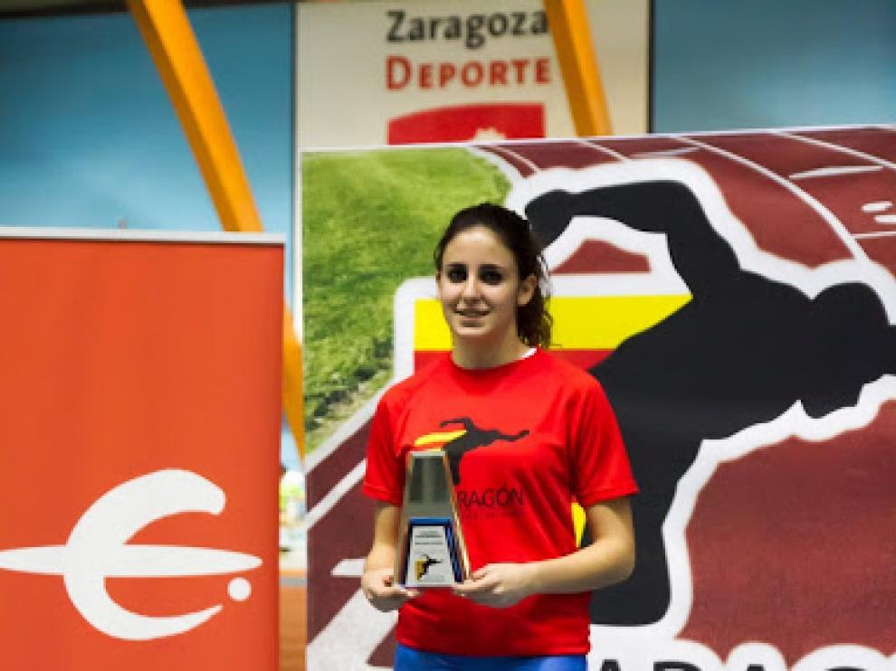 Elena Daniel, en el Intercomunidades.