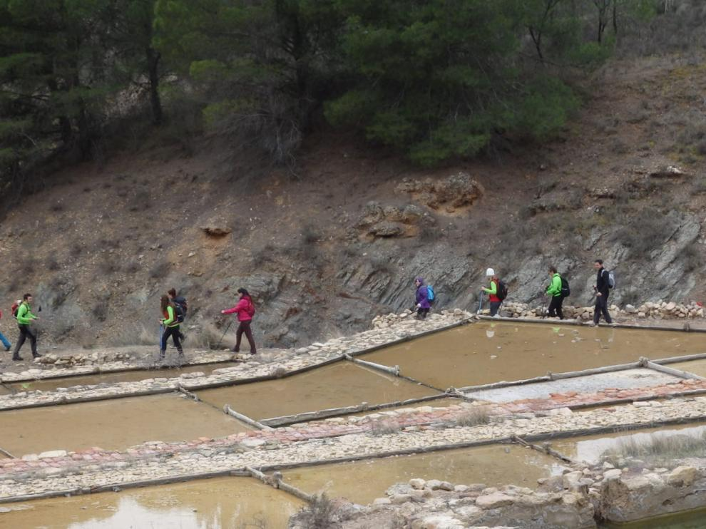 XXVIª Marcha Senderista Comunidad de Calatayud por las Salinas de Nueválos.