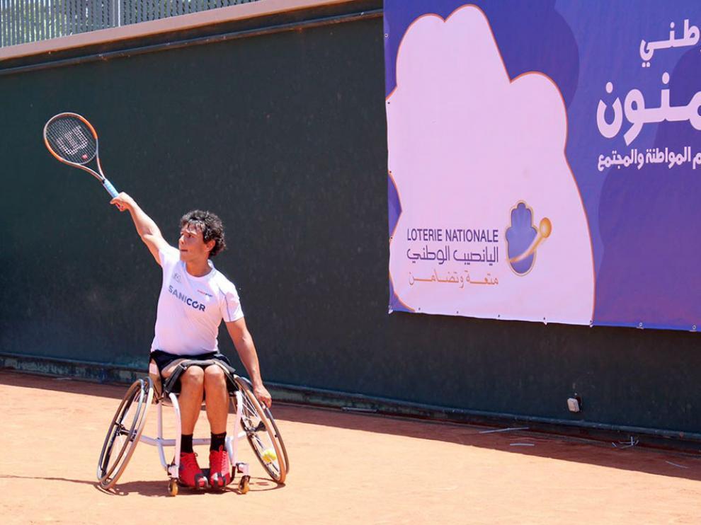 El tenista Cisco García, en una imagen de archivo.