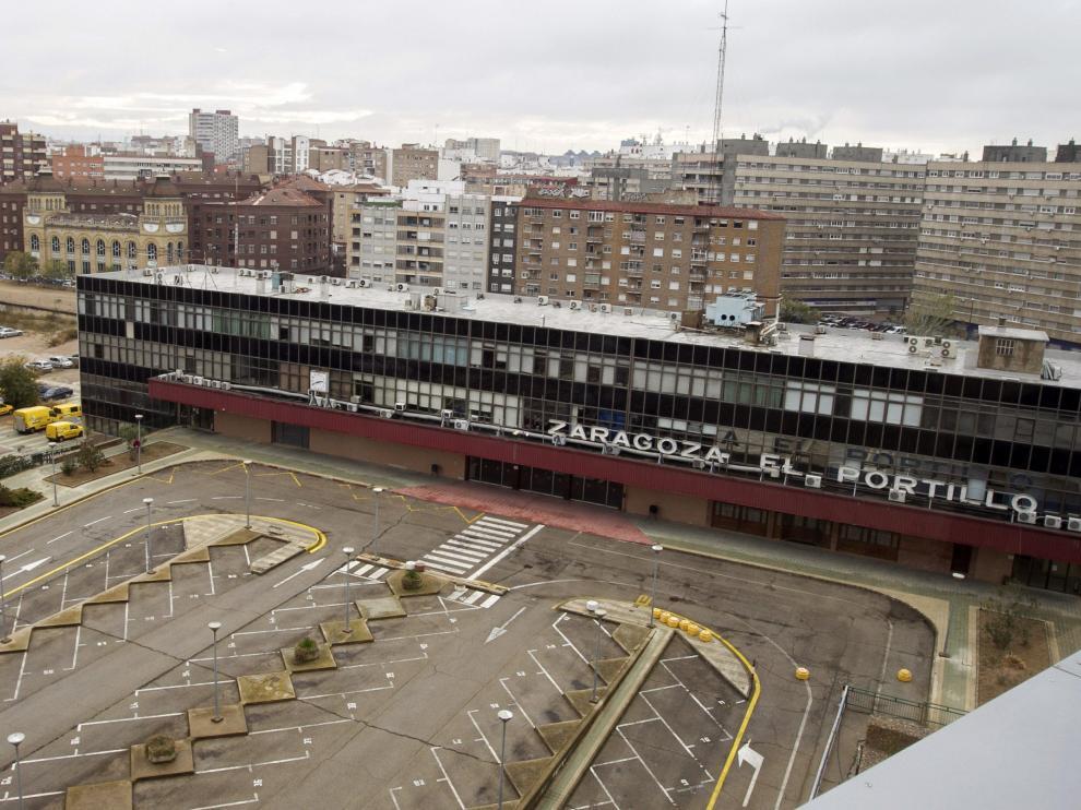 La antigua estación de El Portillo en una imagen de archivo.