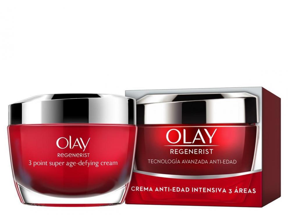 Crema Olay Regenerist, los productos supuestamente hurtados por Cristina Cifuentes en 2011.