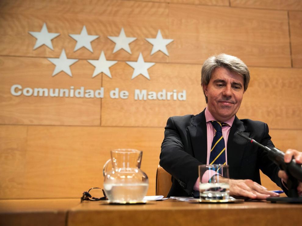 Ángel Garrido será el presidente en funciones de la Comunidad de Madrid.