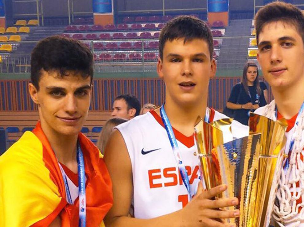 Alocén, Fernández y Pradilla, campeones del Europeo U16