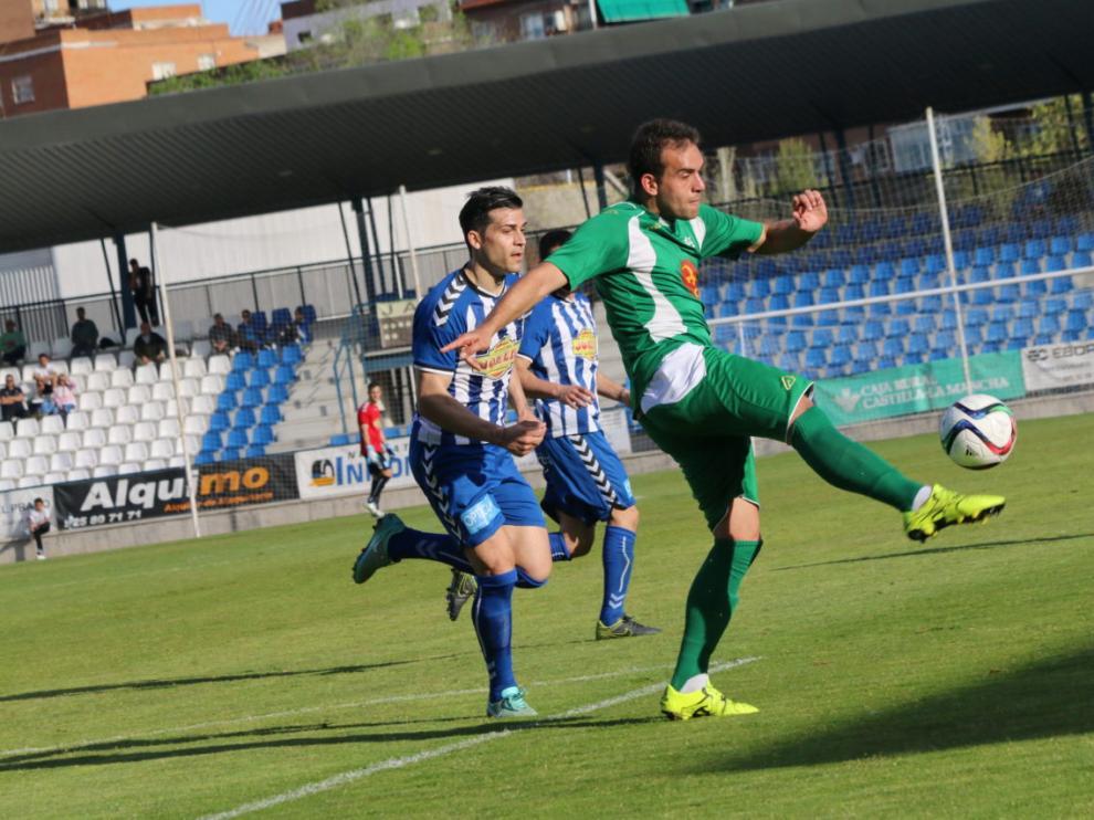 Fútbol. Segunda División B. Talavera vs. Ebro