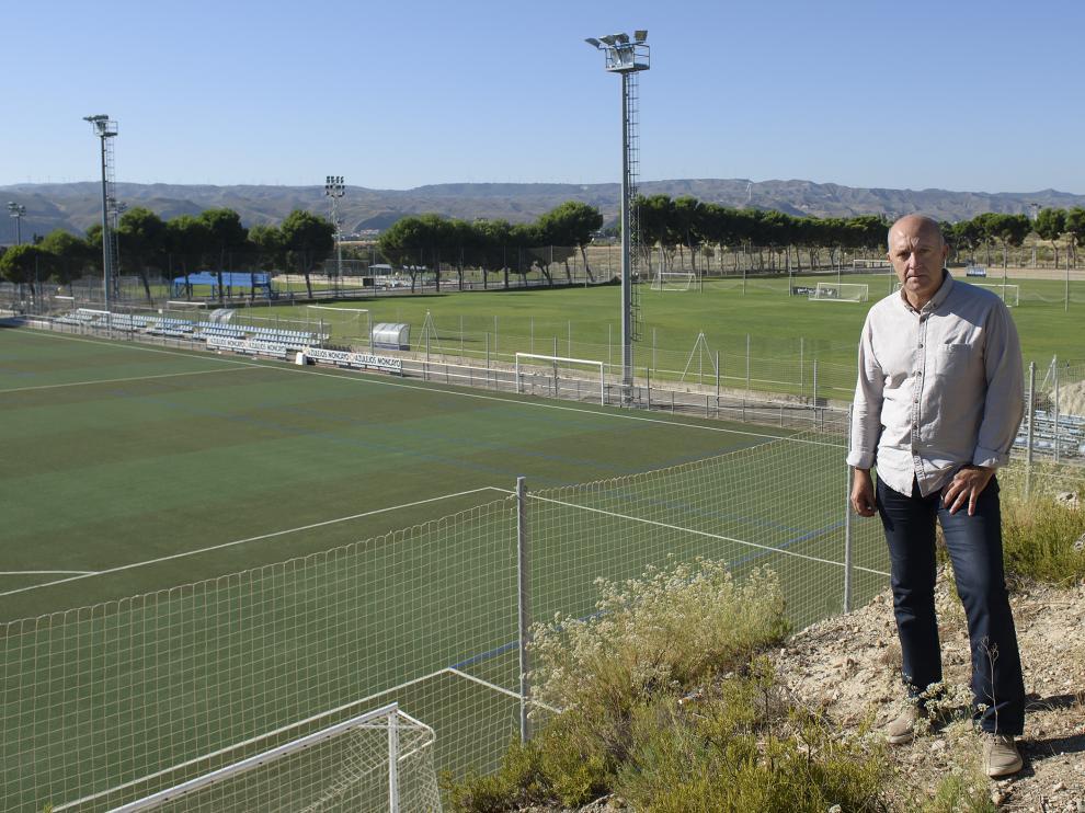 Ramón Lozano, director de cantera del Real Zaragoza.