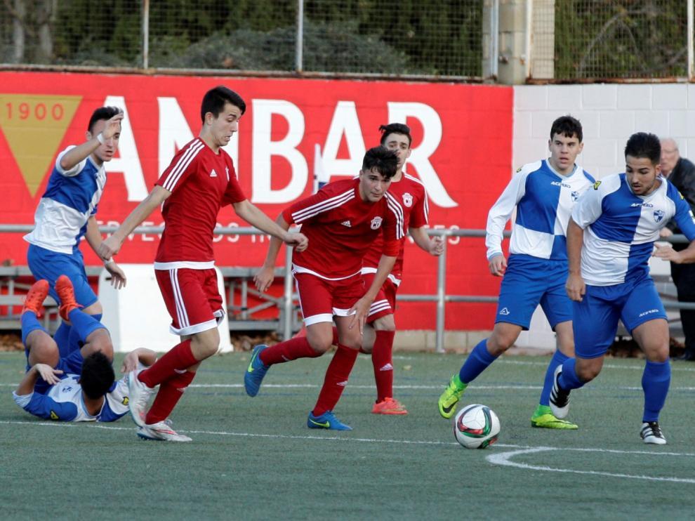 Fútbol. Liga Nacional Juvenil. Ebro vs. San Gregorio