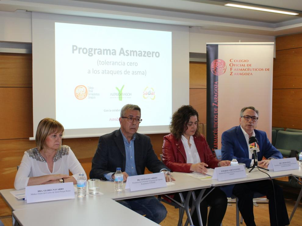 La presentación del programa Asmazero ha tenido lugar esta mañana.