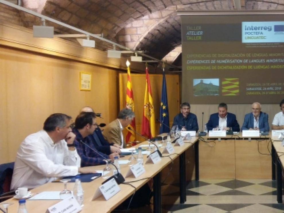 El taller de de trabajo con expertos en la digitalización del euskera y el occitano de Linguatec
