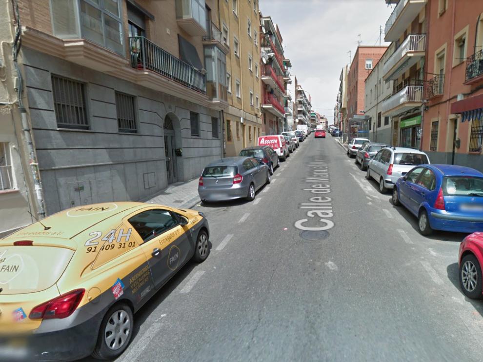 Calle Manuel Maroto, Madrid