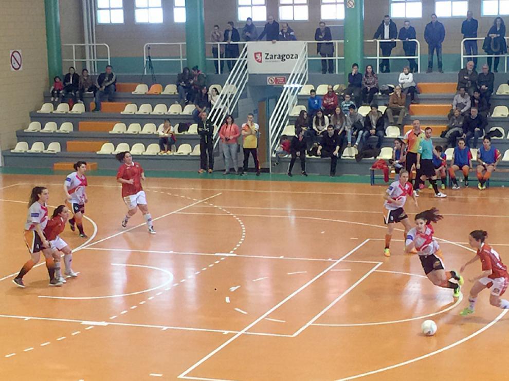 Fútbol sala. Segunda División. Sala Zaragoza vs. Red Star's