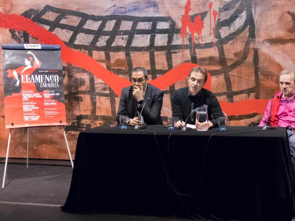 Imagen de la presentación este viernes del Festival Flamenco, que arrancará el próximo 3 de mayo.