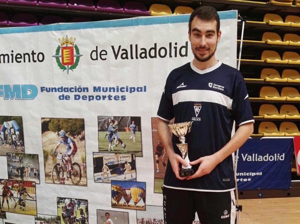 Eder Vallejo (CN Helios), tercer clasificado en sub 23 en el Torneo Estatal de Valladolid