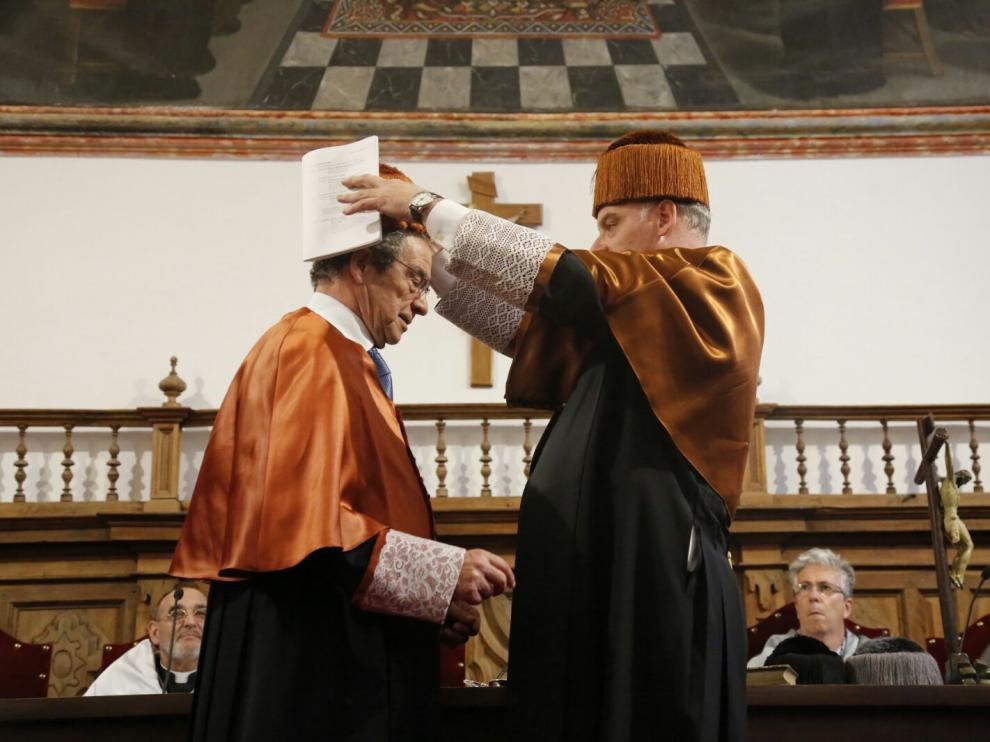 César Alierta, doctor honoris causa por la Universidad Pontificia de Salamanca