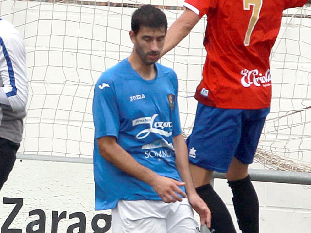 José Antonio Suarez en el partido contra el Montecarlo del pasado mes de noviembre