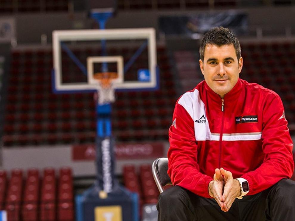 Luis Arbalejo coordinador de categorías base y de la Fundación Basket Zaragoza