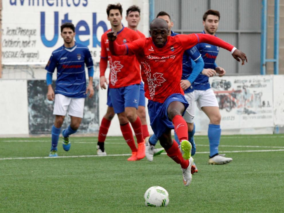 Imagen de archivo de un partido del Cariñena de la pasada temporada