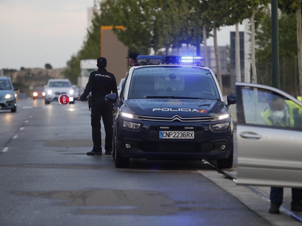 Operación policial en Puerto Venecia