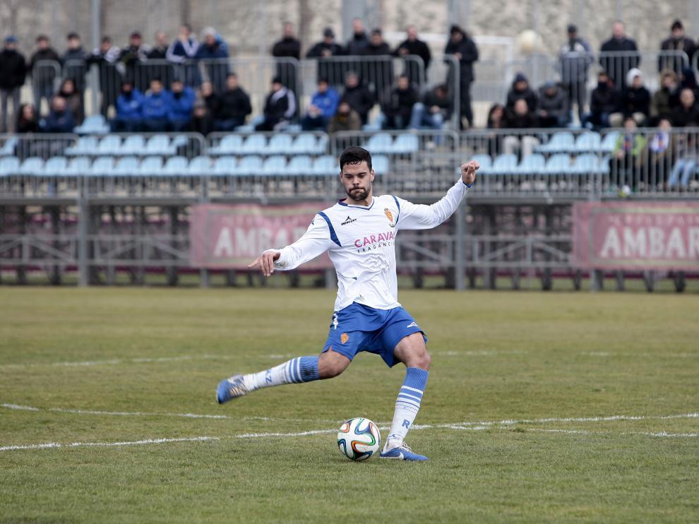 Marc Vales, durante su etapa en el Real Zaragoza.