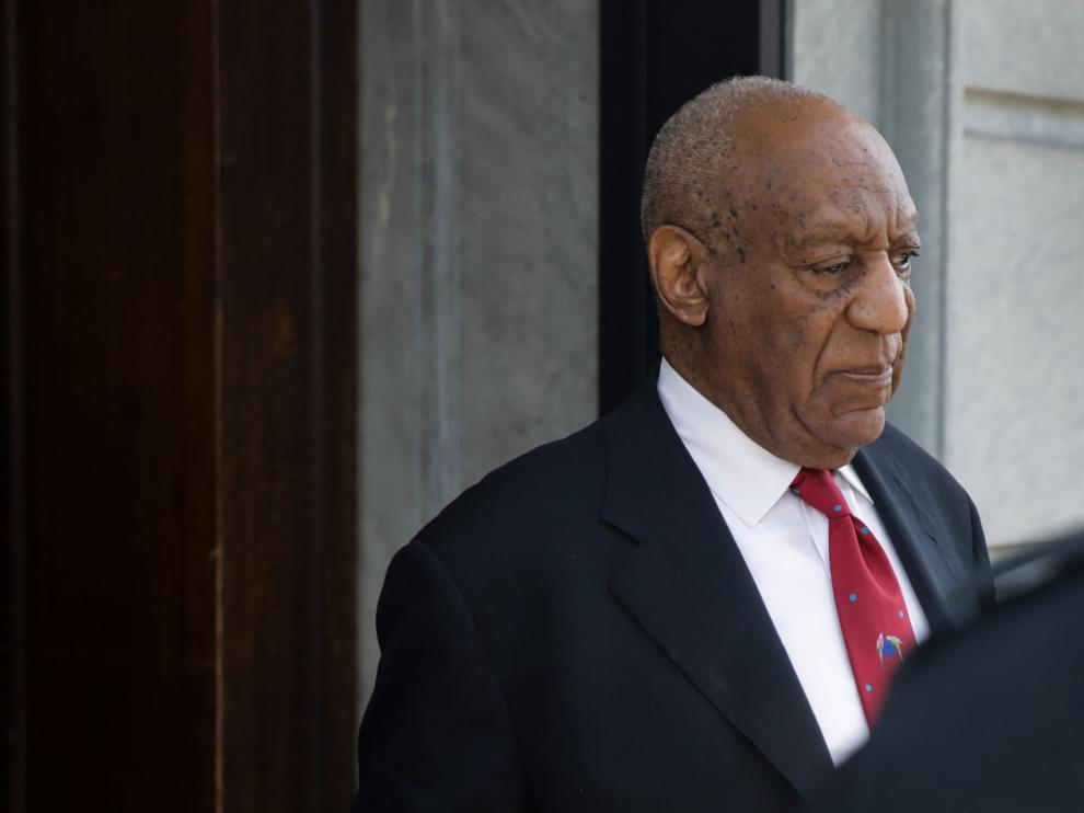 Bill Cosby después de que el jurado lo declarase culpable de tres delitos de agresión sexual.