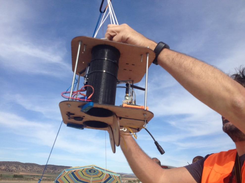 Los prototipos de sonda espacial se ponen a prueba