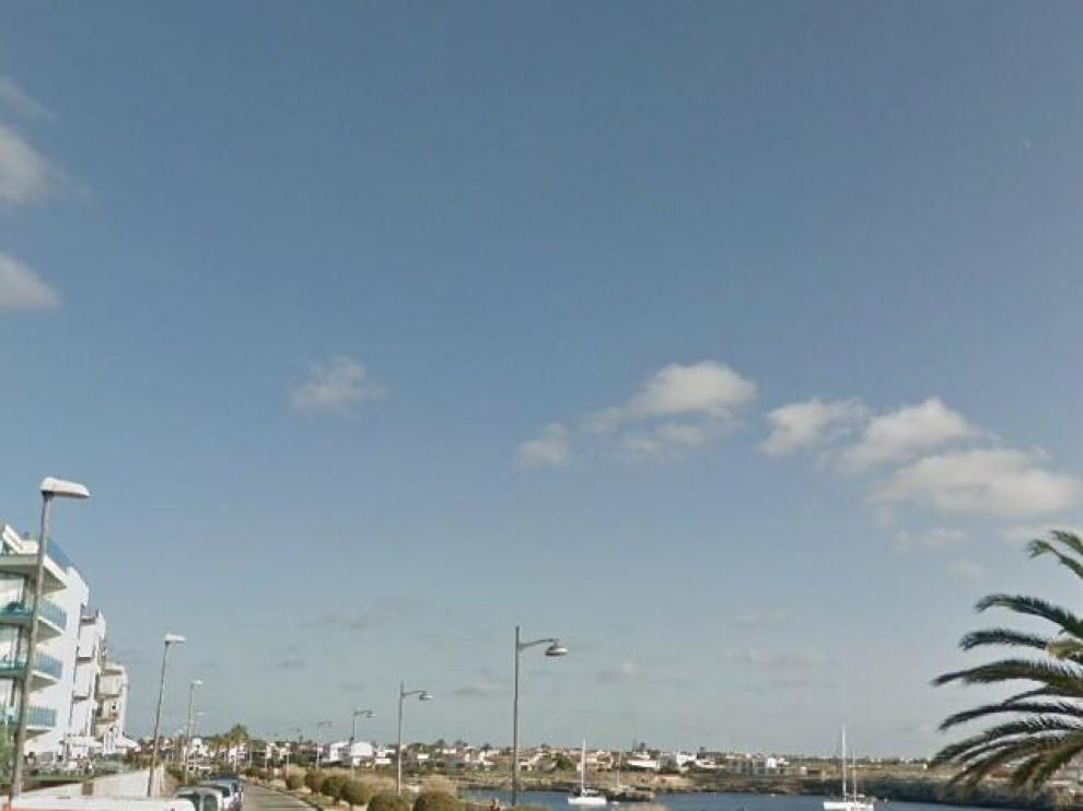 Paseo próximo a la estación maritíma de Ciutadella, en Menorca, cerca de donde se ha producido el suceso.