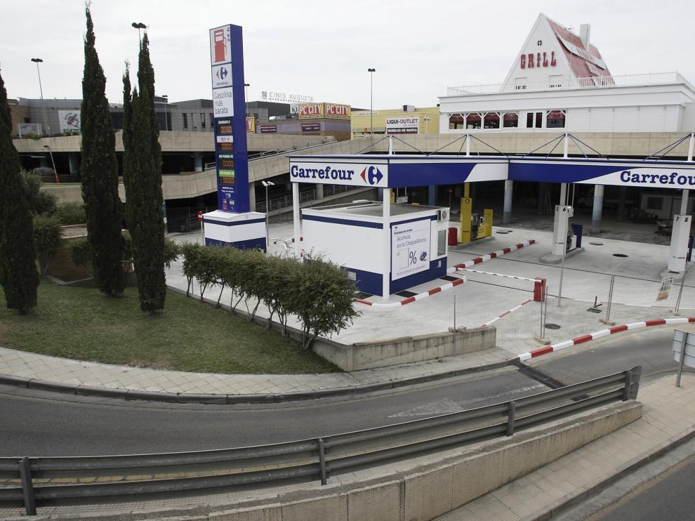 Vista del centro comercial Augusta de Zaragoza.