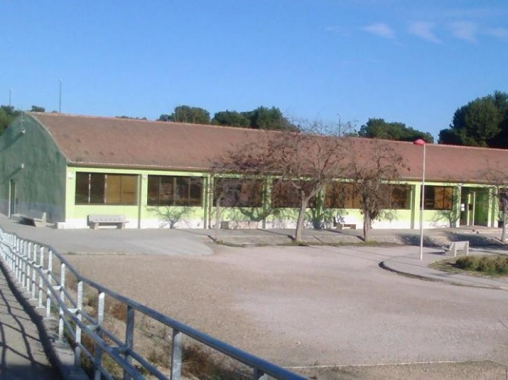 Exterior del centro vecinal Barrios del Sur en Valdespartera