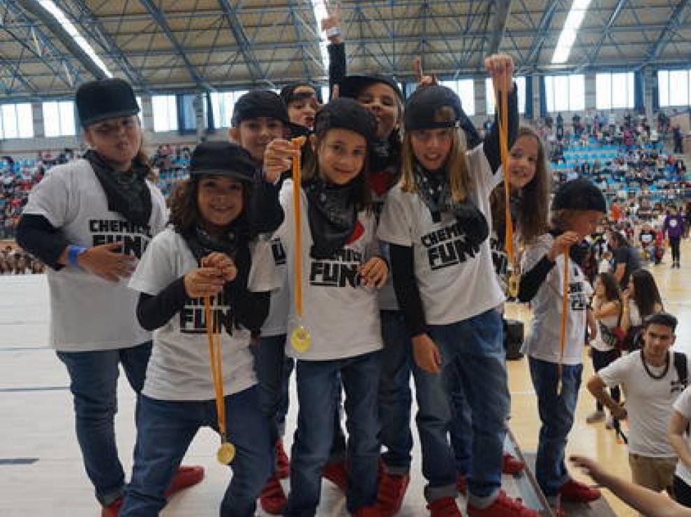 IX Campeonato de Aragón de Hip Hop en Monzón.