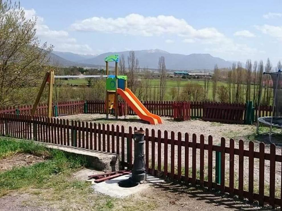 El nuevo parque de Martillé es uno de los primeros trabajos del programa.