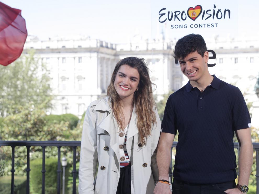 Amaia y Alfred, representantes de España en Eurovisión.