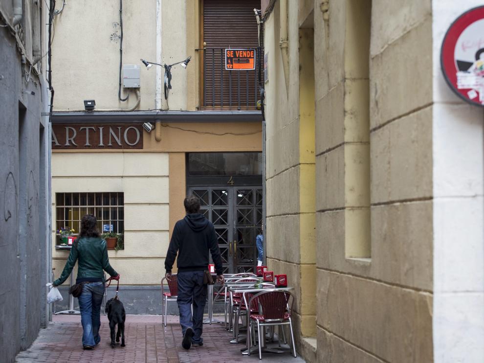 La venta de inmuebles aumenta ligeramente en Aragón.