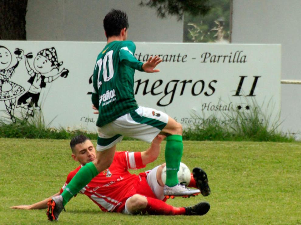 Imagen de archivo de un partido disputado por el Bujaraloz en Primera Regional.
