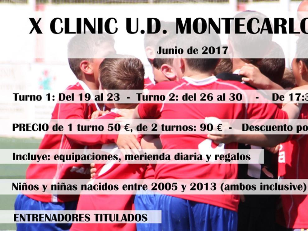 Xª edición del Clínic de la UD Montecarlo