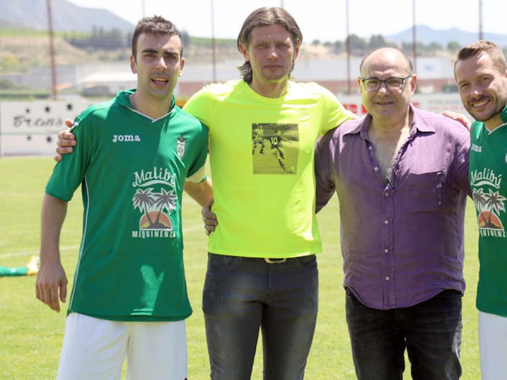Félix Redondo y Carlos Aldabó se retiran en el Mequinenza