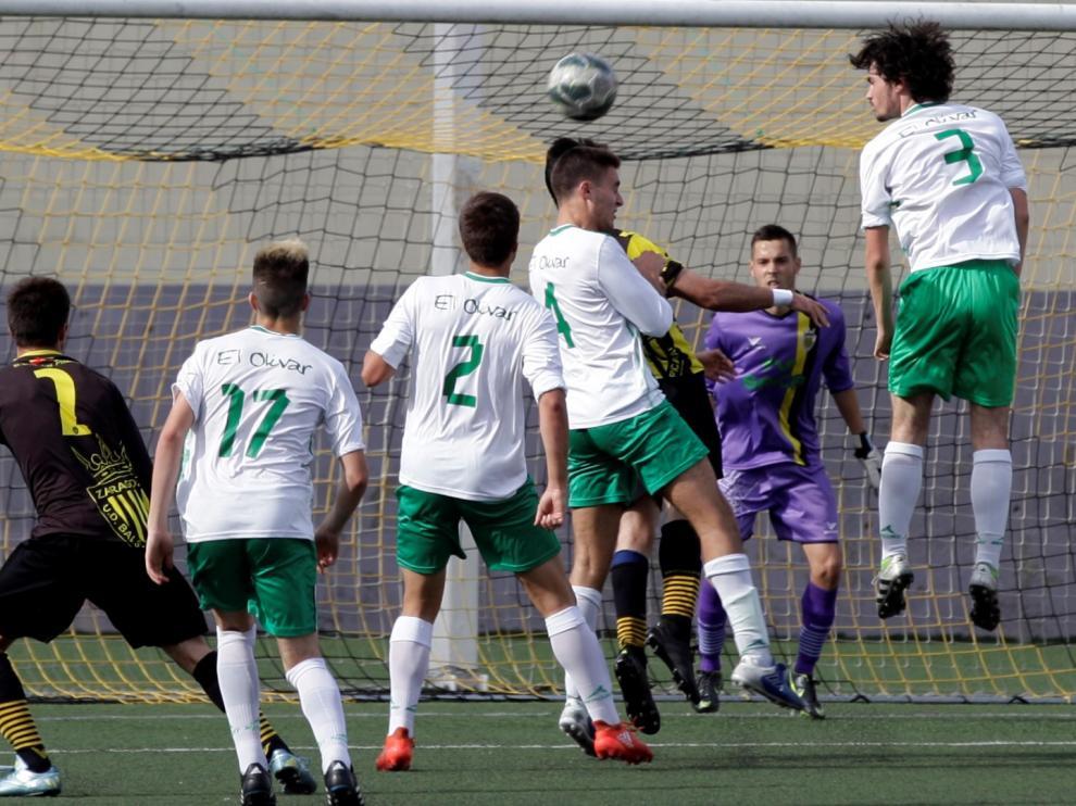 Fútbol. Liga Nacional Juvenil. Balsas vs. El Olivar