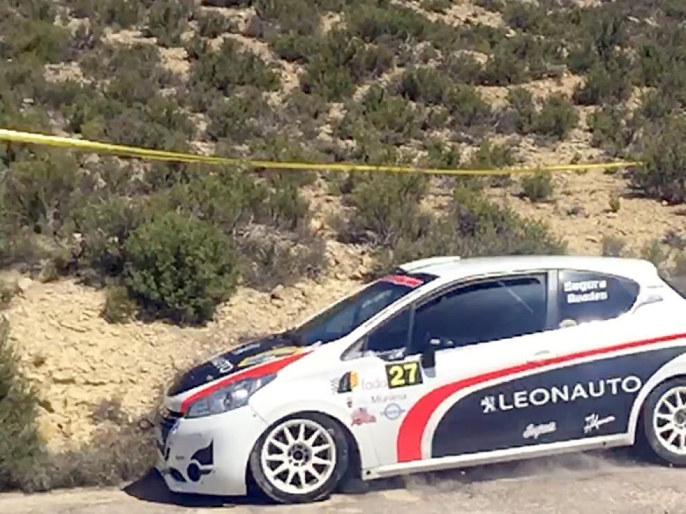 Los valencianos Emilio Segura y Víctor Baudes se llevaron la victoria en el Rally Cuencas Mineras