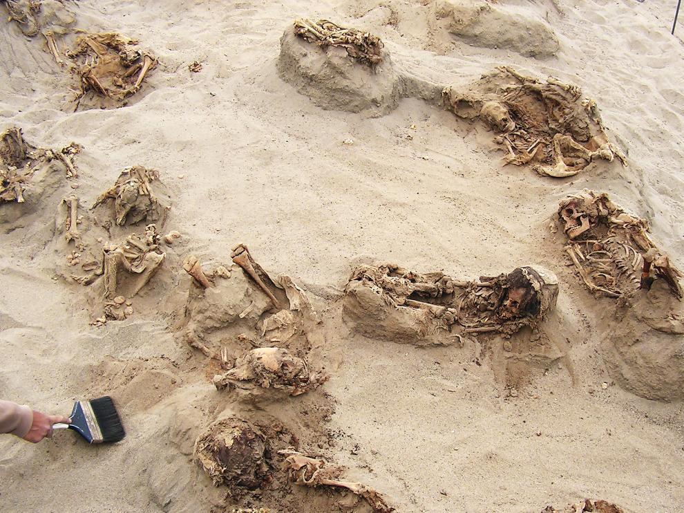 Los restos fueron encontrados cerca de Chan Chan, la ciudad de barro más grande del continente